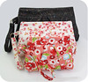 Three Sizes (michellepatterns) Tags: sewing clutch wristlet