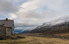 Abandoned View (Dani℮l) Tags: mountain snow cold abandoned ice barn river landscape lost iceland nikon farm daniel ruin roadtrip valley lonely desolate kakki d300 ringroad ijsland lanschap eyjafjardarsysla