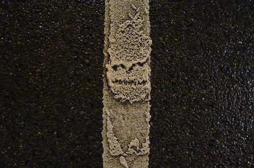 Don't Don't Do It (maf*pHew) Tags: road tarmac ghost evil sprite line devil phenomenon whitelines mafphew mafphoto