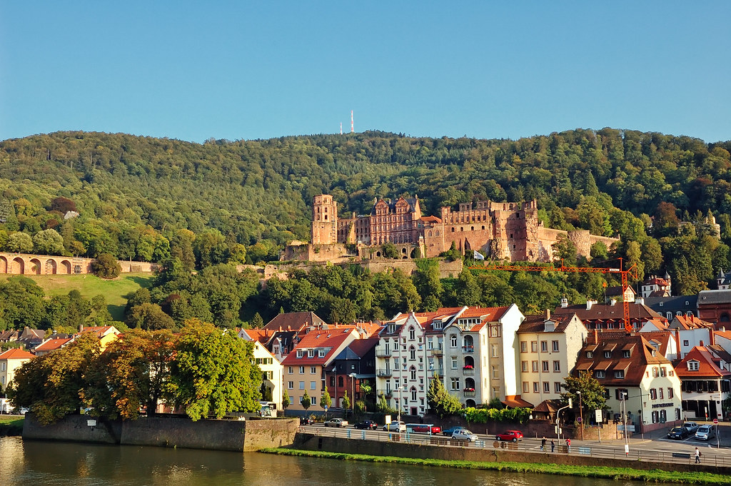 Heidelberg Castle and City, Germany