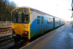 150118 (Sam Tait) Tags: uk station train buxton diesel class 150 gb second multiple generation 118 units sprinter dmu 150118