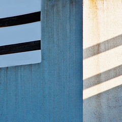 (MonicaSE) Tags: blue detail wall square lightandshadows minimalistic canon60d monicase