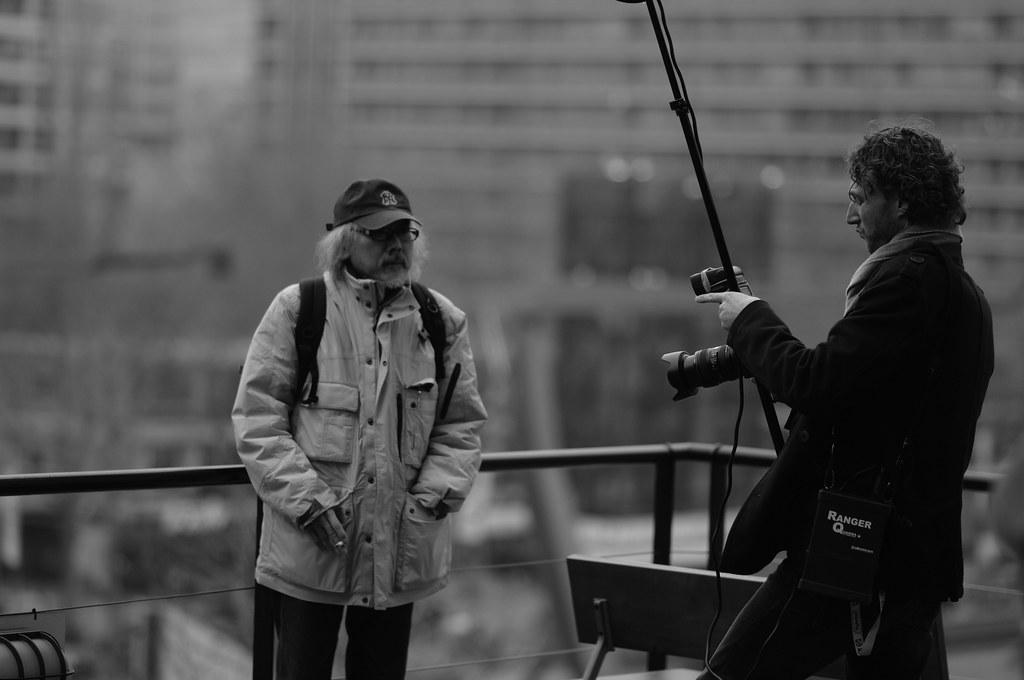 #IFFR 2012: Masahiro Kobayashi, director of Women on the Edge, on the roof of De Doelen