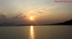 Sunset at Brahmaputra (RajivSinha Photography) Tags: sunsetatbrahmaputra rajivsinhaphotography