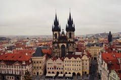 Prague old town (The Globetrotting photographer) Tags: street old city winter urban town europe republic czech prague prag praga   2011