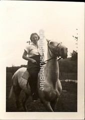 Horse Back Rider (mizaliza) Tags: horse woman photo riding etsy horsebackrider photovintage photoantique femalerider etsydelphiniumsbluedelphiniumsbluefound