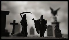 Skaredale Cemetery (R D L) Tags: graveyard death reaper vampire hornby preiser skaledale