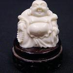 """<b>Buddha</b><br/> -Unknown- Buddha Ivory, ca. 1978 LFAC #2008:01:44<a href=""""http://farm8.static.flickr.com/7152/6835907743_8104e84bff_o.jpg"""" title=""""High res"""">∝</a>"""