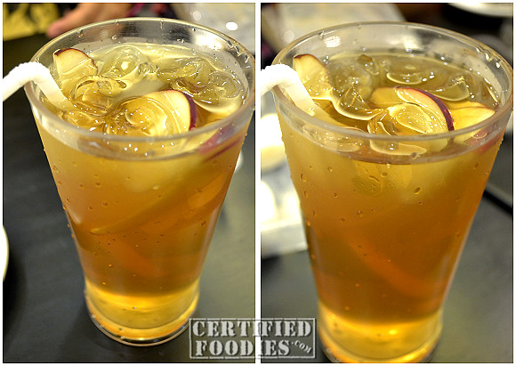 Our Honey Apple Iced Teas