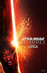 Star Wars Episode I: The Phantom Menace in 3D poster - Darth Maul (2012) (Paxton Holley) Tags: promotion one star 1 george yoda tea lucas drinks commercial darth jedi jar movies soda wars phantom beverages episode menace qui maul gon binks brisk jinn gungan