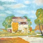"<b>Blue Wind</b><br/> Orville M. Running (1910-) ""Blue WInd"" Acrylic, 1974 LFAC #263<a href=""http://farm8.static.flickr.com/7152/6852263435_69936f3f0e_o.jpg"" title=""High res"">∝</a>"