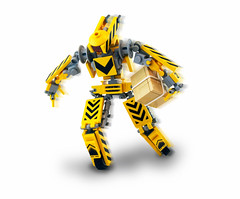 FedMechs (Titolian) Tags: speed robot lego transport future fedex package mech mechahub