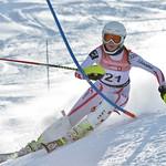 Katrin HINTERHOLZER of Austria takes 3rd Place in the U16 Girls Slalom Race held on Whistler Mountain on April 6th, 2014. Photo by Scott Brammer - coastphoto.com - coastphoto.com