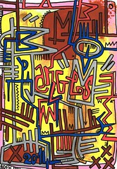 Anges by Tarek (Pegasus & Co) Tags: urban streetart art colors painting graffiti artwork stencil paste arts picture dessin pein