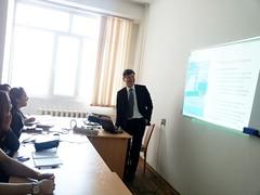 "Predavanja studentima master studija na Nacionalnom univerzitetu u Kazahstanu <a style=""margin-left:10px; font-size:0.8em;"" href=""https://www.flickr.com/photos/89847229@N08/13759049274/"" target=""_blank"">@flickr</a>"