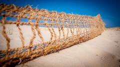 Cordage - La Salie - Gironde (GComS) Tags: ocean mer dune plage corde atlantique gironde lasalie