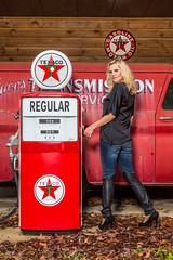 JunkyardShoot-20140316-309 (Frank Kloskowski) Tags: truck georgia shoot models gasstation junkyard gaspump lagrange