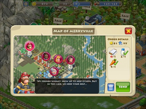 Township Gameplay: screenshots, UI
