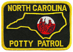 North Carolina Potty Patrol (Mike Licht, NotionsCapital.com) Tags: politics satire northcarolina transgender lgbt lawenforcement gop republicans conservatives hb2 publicrestrooms publictoilets embroideredpatches policepatches pottypolitics bathroombill pottypolice publicfacilitiesprivacysecurityact