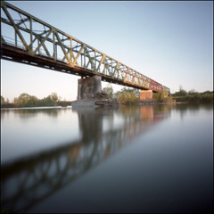 Tanaro River (Asti, italy) (Roberto Messina photography) Tags: color 6x6 film analog pinhole analogue expired avril 2016 wppd fujipro160