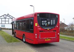 GAL MB 160 - YX60FVC - NSR - ST PAULS HILL - TUE 15TH MAR 2016 (Bexleybus) Tags: london ahead go 200 dennis enviro metrobus 160 adl orpington goahead yx60fvc