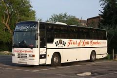 First & Last Coaches KAZ 1363 (johnmorris13) Tags: volvo coach paramount plaxton b10m kaz1363 firstlastcoaches
