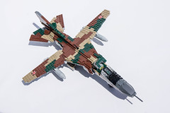 Mikoyan-Gurevich MiG-23M Flogger-B - 10 (Kenneth-V) Tags: cold scale plane airplane model war fighter lego aircraft aviation military air planes finished flogger airforce russian mig 136 gurevich mikoyan mig23 moc floggerb mig23m
