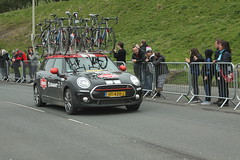 Giant Alpecin Team Car (Steve Dawson.) Tags: road uk england cars race canon giant eos is team 1st yorkshire may bikes cycle tdy scarborough usm ef28135mm seafront stage3 uci peloton 2016 f3556 50d ef28135mmf3556isusm canoneos50d alpecin tourdeyorkshire