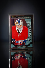 Zachary Fucale Marquee Rookie Platinum (cdn_jets_cards) Tags: ice sports hockey cards marquee nhl habs foil montreal deck upper platinum rookie rookies candiens nhlpa