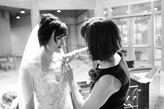 A Moment Between Daughter and Mother (nichols_) Tags: wedding bw white black art love 35mm canon photography bride f14 sigma brides weddings 6d weddingphotography weddingphotojournalism