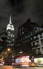 New York (PrettyHungry) Tags: city nyc newyorkcity blackandwhite ny newyork empirestatebuilding empirestate bnw