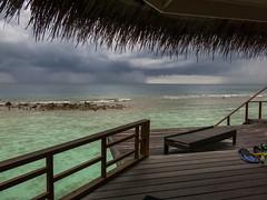 The Approaching Storm - Kuramathi (davee10101) Tags: storm squall maldives kuramathi
