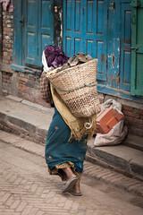 Heavy Load (Mark S Weaver) Tags: kathmandu nepa