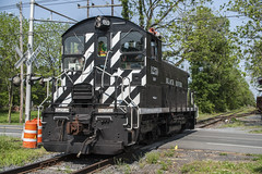 Paint it Black (Nick Gagliardi) Tags: railroad black train river trains western pup sw1 brw switcher emd sw1500 sw1200rs bdrv