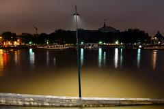 Crue de la Seine 2016 - Paris, berges rives gauche (EclairagePublic.eu) Tags: paris seine flooding eau flood lumire led berge quai inondation lampadaire naturelle catastrophe crue luminaire candlabre