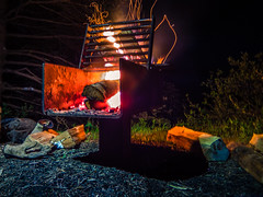 Goose River trail, Fundy NB (Moncton Guy) Tags: camping fire fujifilm fundy xf1