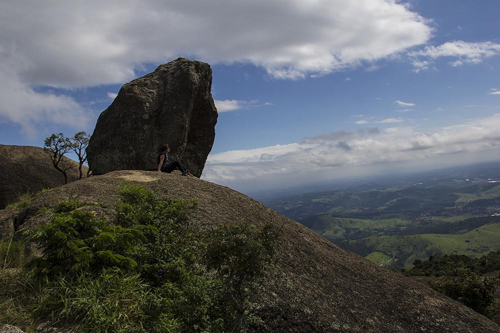 Trilha da Pedra Grande - Pedras no topo da Pedra