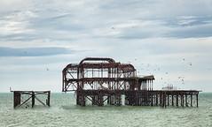 Brighton Old Pier (Rachel Dunsdon) Tags: metal pier brighton decay worn destroyed dilapidated eroded oldpier