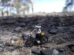 Day 3b:  near Yass Little Lucy med distance (wongcilik54) Tags: bicycle cycling sydney melbourne littlepeople yass 1896 lucybeyer
