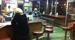 (theres no way home) Tags: style photograph logansquare nighthawks edwardhopper johnnysgrill theresnowayhome