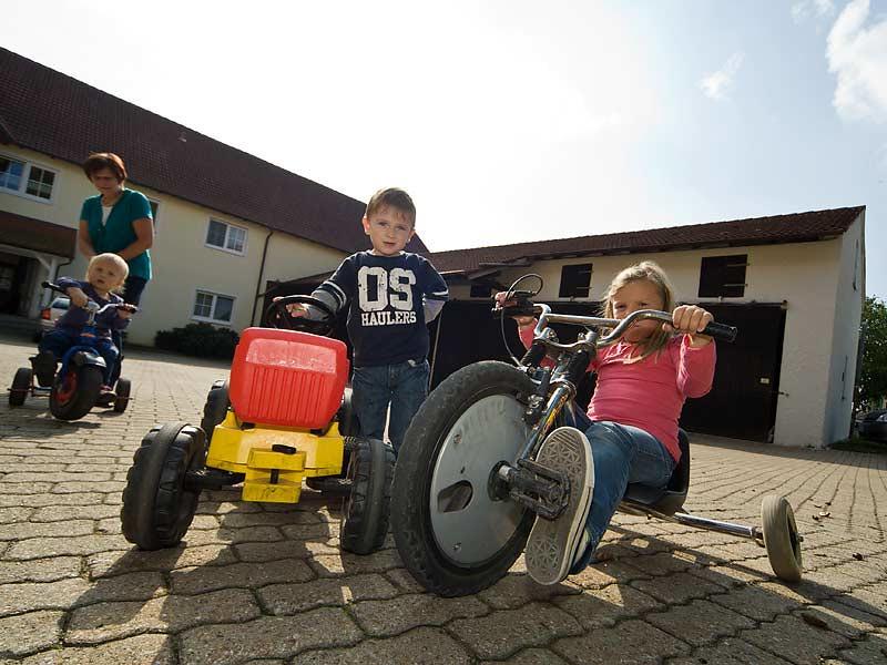 Kastanienhof Selz - Kinderfahrzeuge