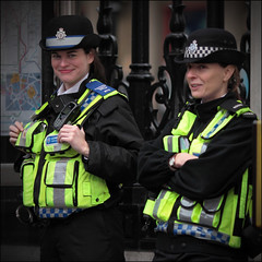 On duty (Chris Taylor Pictures) Tags: london uniform rally police policewoman strike policewomen publicsector