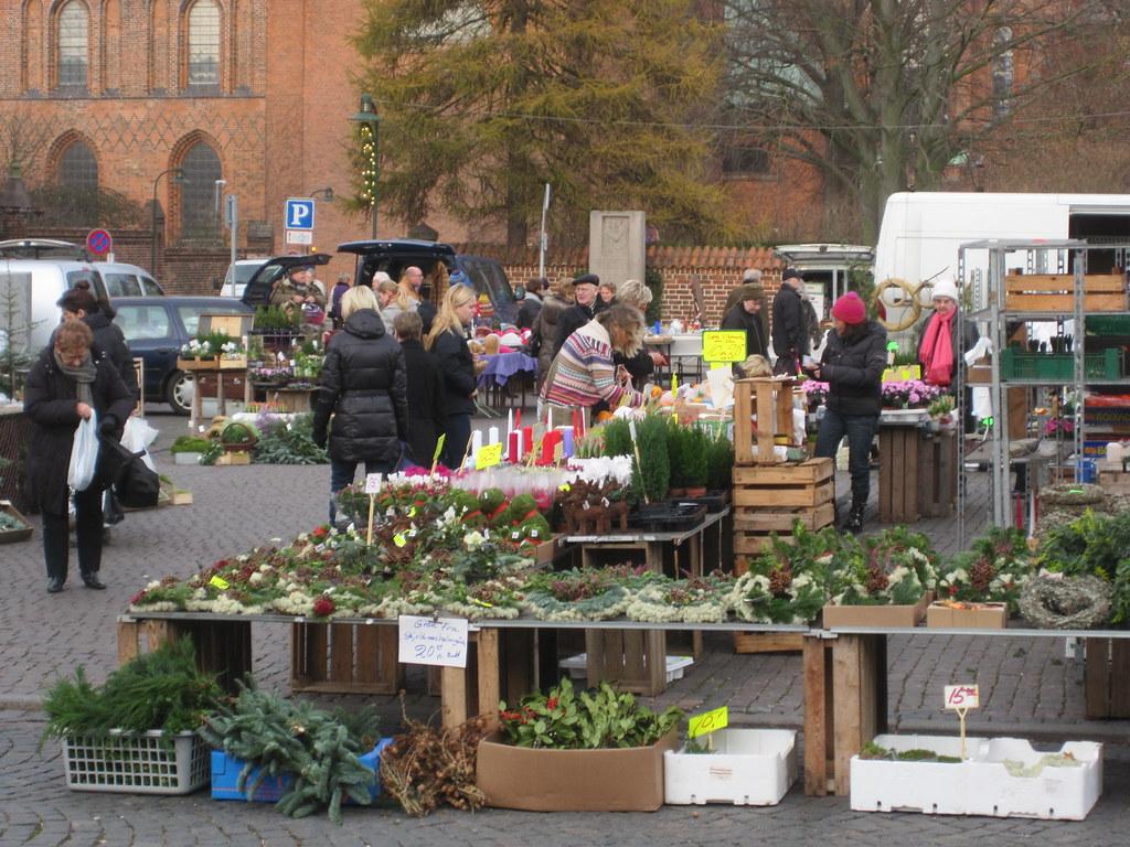 Market in Roskilde