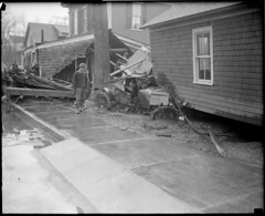 Flood in Colebrook, N.H. (Boston Public Library) Tags: weather storms floods lesliejones