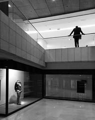 L'homme double (Bernard Chevalier) Tags: street paris geometric mannequin architecture double deux géométrie ville homme vitrine vide urbain urbanisme abstrait attente classique graphisme anonymat