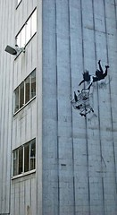 New Banksy piece in Mayfair (shell shock) Tags: art graffiti banksy mayfair shoptilyoudrop