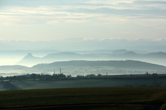 mist clears (cc) (marfis75) Tags: panorama mist fog germany landscape deutschland day nebel lift creative commons away blow cc german landschaft lifts lichten wrtemberg ccbysa marfis75 regionwide mygearandme cobways