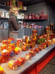 デュッセルドルフのクリスマスマーケット by Ik T