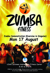 Zumba Fitness (Grafixsalsero) Tags: