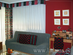 "Decoración para Salones Clásicos: Cortinas con Dobles Cortinas y Bandos, Tapicerías, Paneles Japoneses, Estores... • <a style=""font-size:0.8em;"" href=""http://www.flickr.com/photos/67662386@N08/6476309337/"" target=""_blank"">View on Flickr</a>"